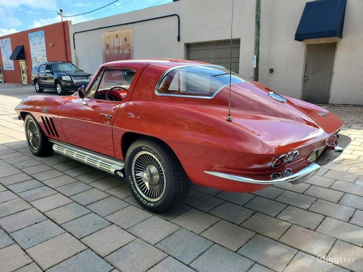 Seductive Red 1966 Chevrolet Corvette  Photo 5