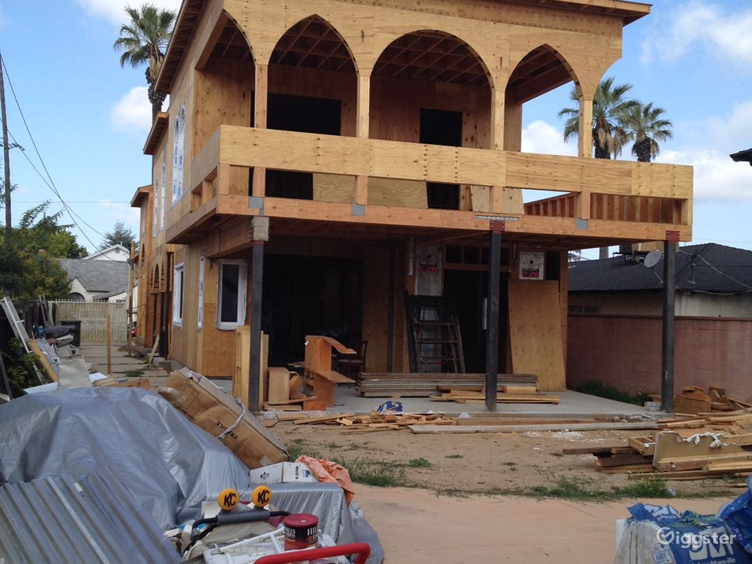 Home under construction Photo 5