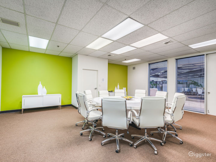 Well-kept Conference Room in Irvine
