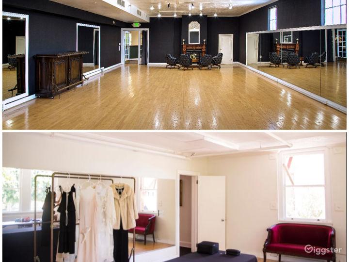 Large Studio with Elegant Charm and Smaller Studio