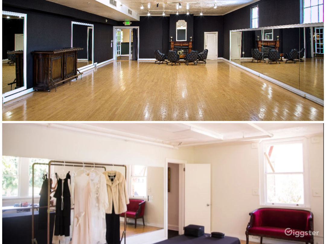 Large Studio with Elegant Charm and Smaller Studio Photo 1