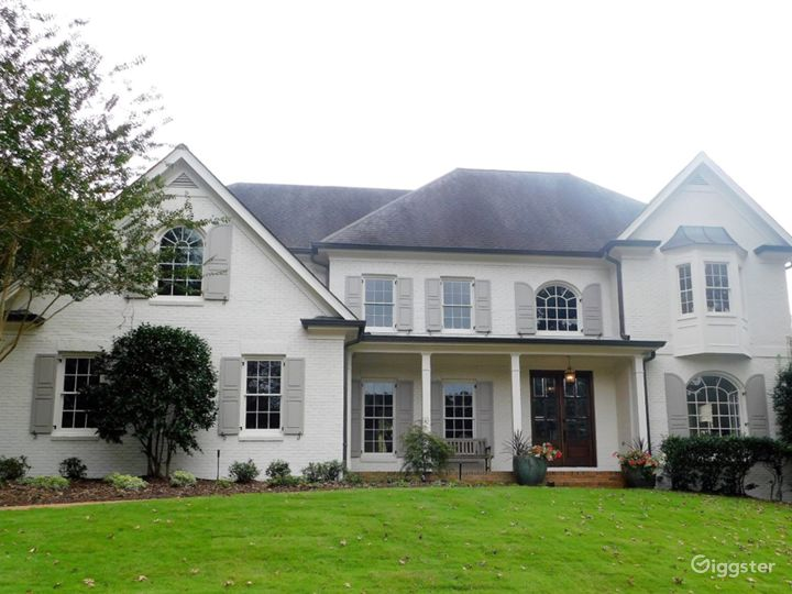 Modern Traditional House with a Large Basement
