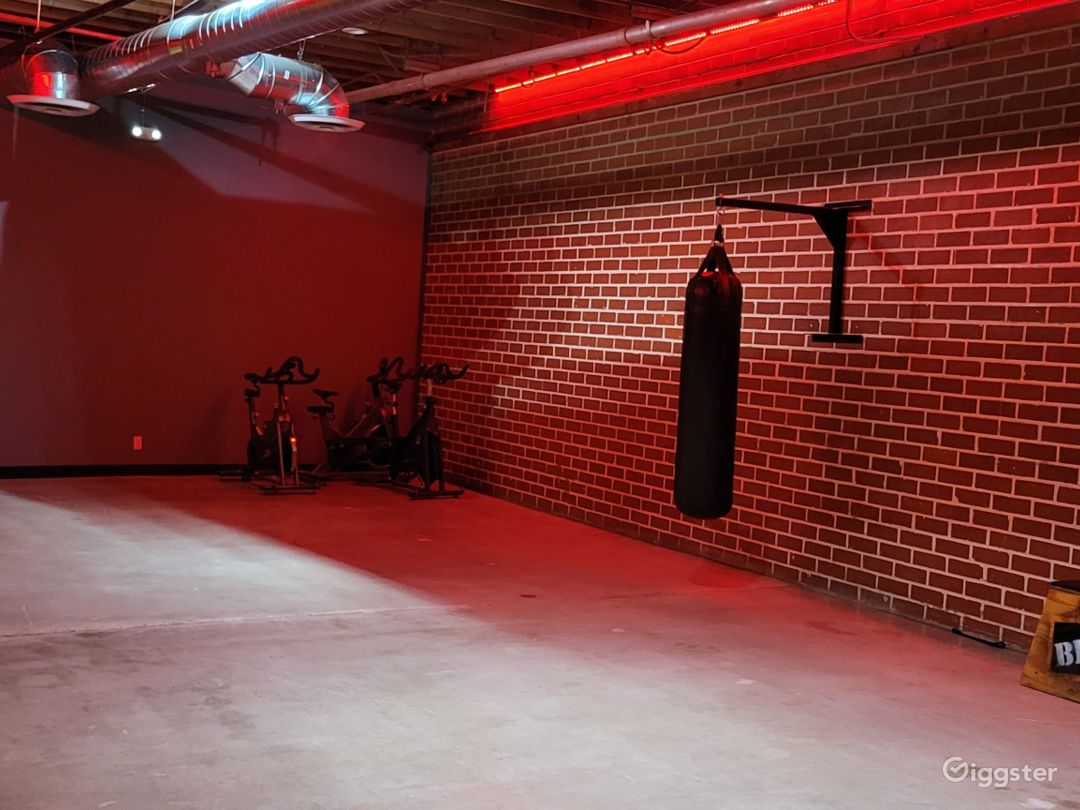 Well-Equipped Cardio Kickboxing Area Photo 1