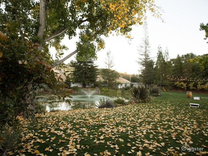 40-Acre Gated Estate Grounds in California Wine Country Photo 5
