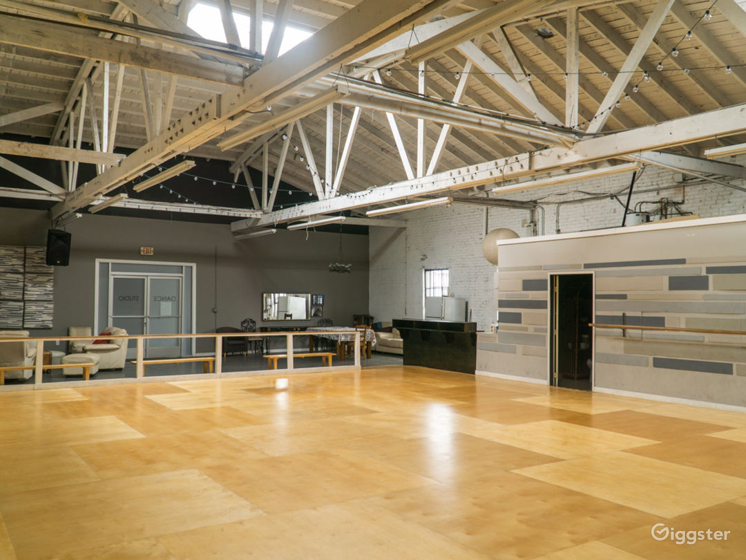 Industrial Dance Studio with Kitchen and Lounge Photo 1