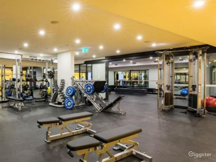 Gym & Fitness Facility for Sport Enthusiasts Photo 3