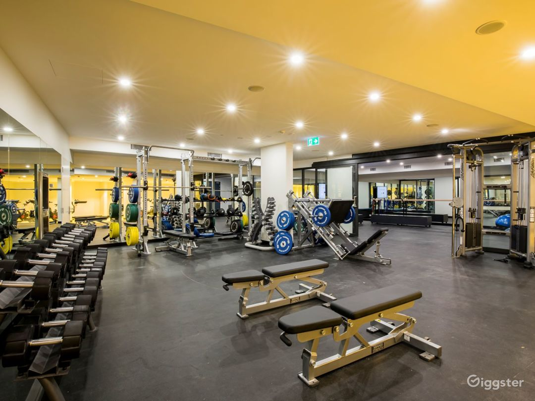 Gym & Fitness Facility for Sport Enthusiasts Photo 1