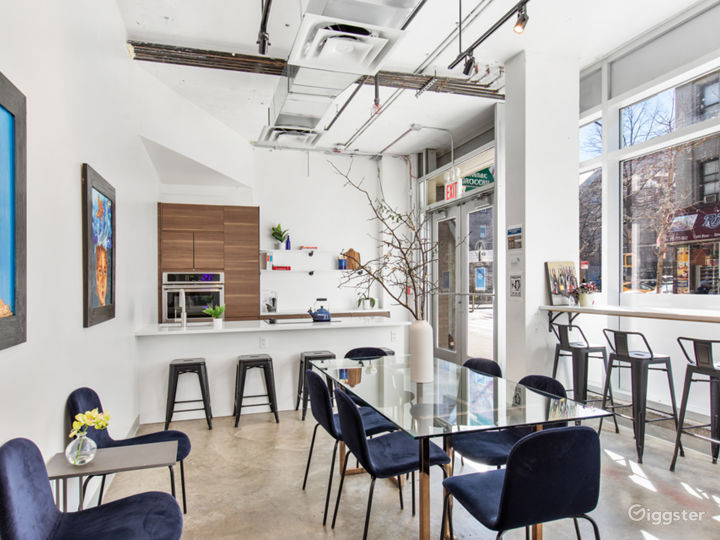 Studio Kitchen and Event Space w/ catering kitchen