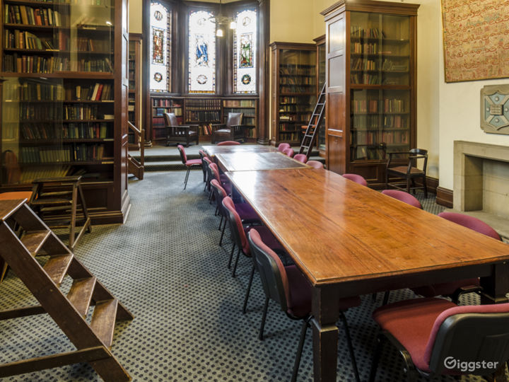 The Main Library with Grand Scottish Setting Photo 2