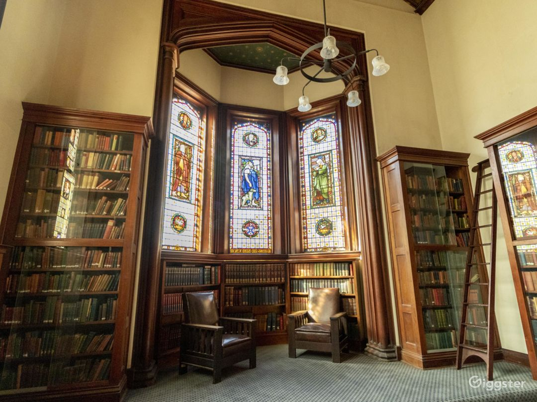 The Main Library with Grand Scottish Setting Photo 1