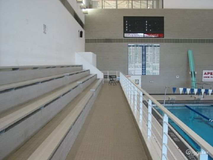 College campus with sports facilities: Location 2652 Photo 5