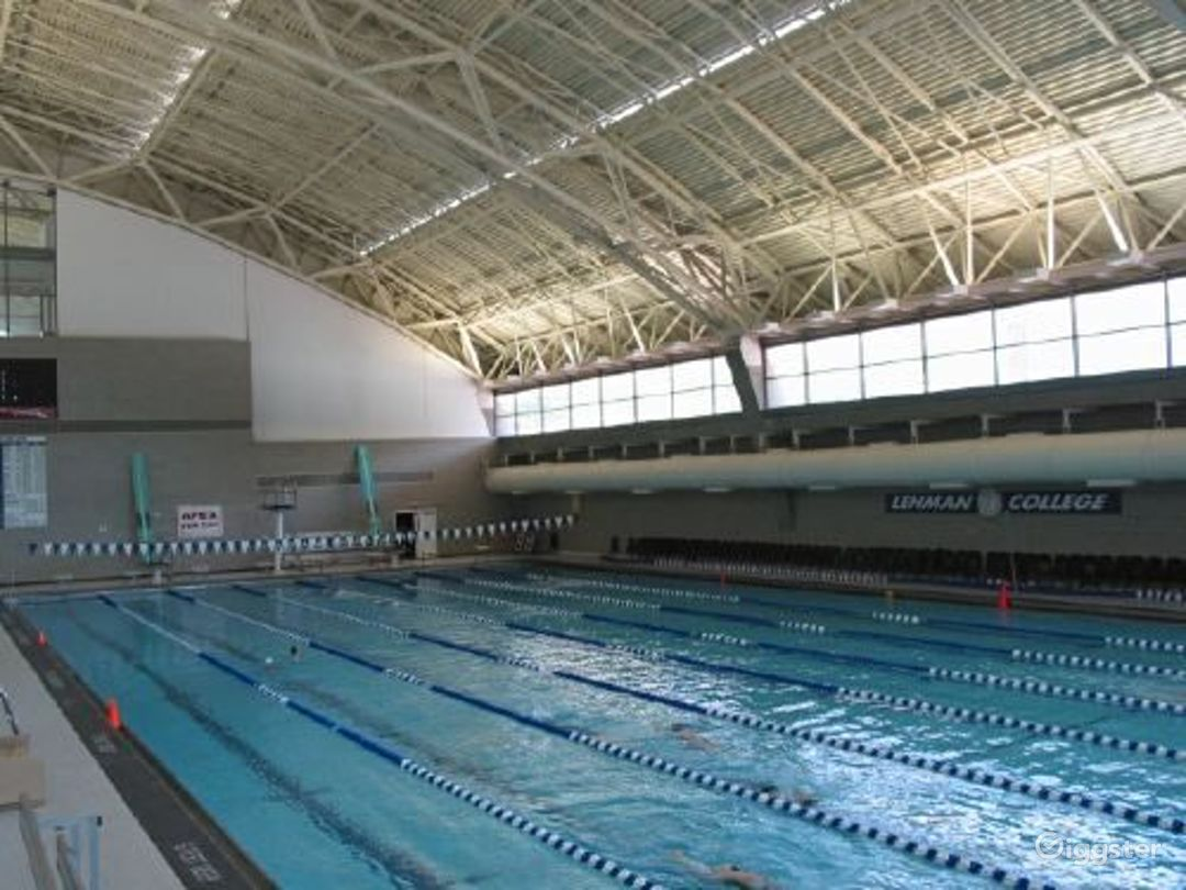 College campus with sports facilities: Location 2652 Photo 1