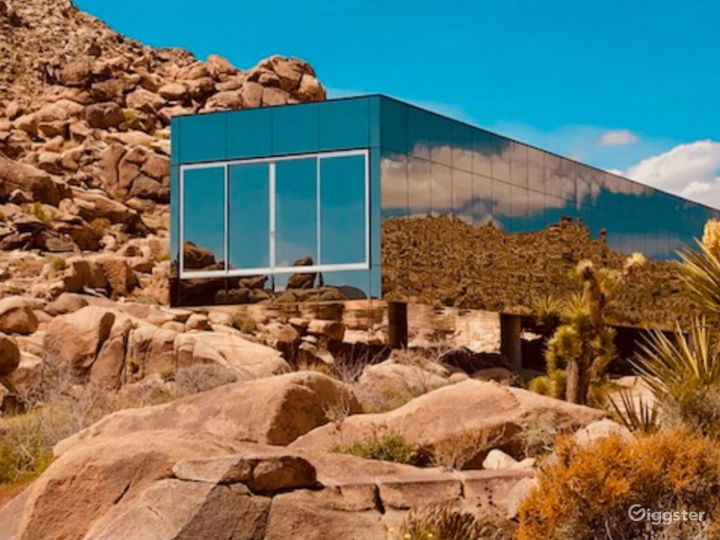 Invisible Mirrored House