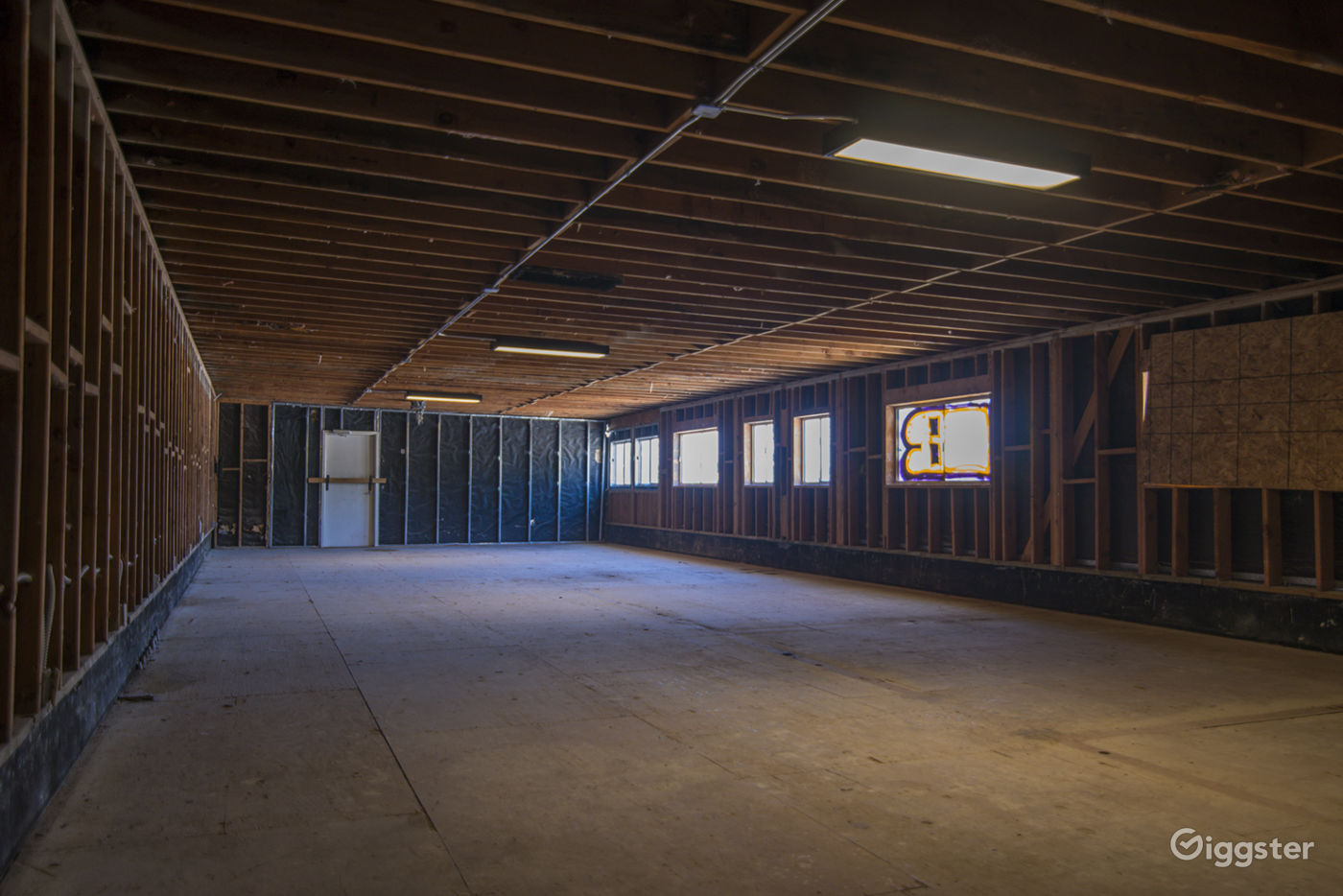 Abandoned Warehouse and Parking Lot near Glassell Park Los Angeles Rental