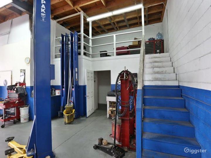 Massive Automotive Repair Shop Perfect for Productions Photo 5