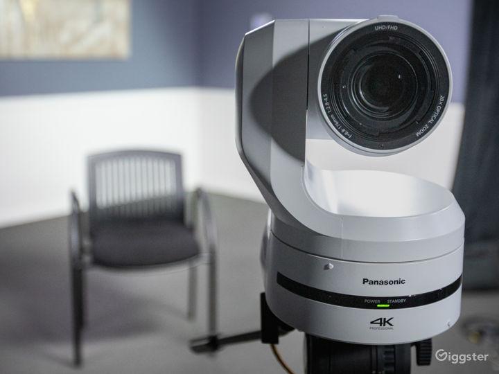 robo camera in our cozy corner