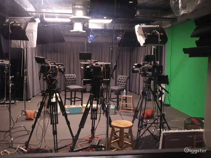we can do 1-6 cameras in our studio