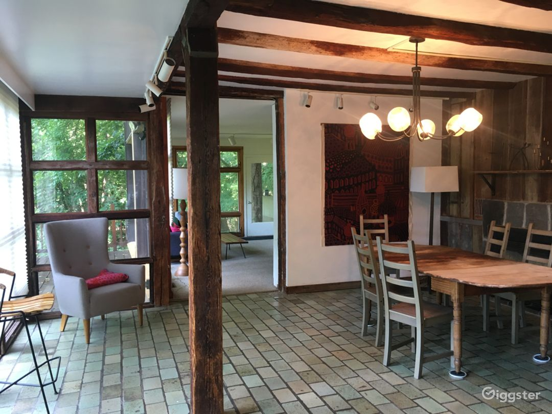 The dining room.  Living room is in the background