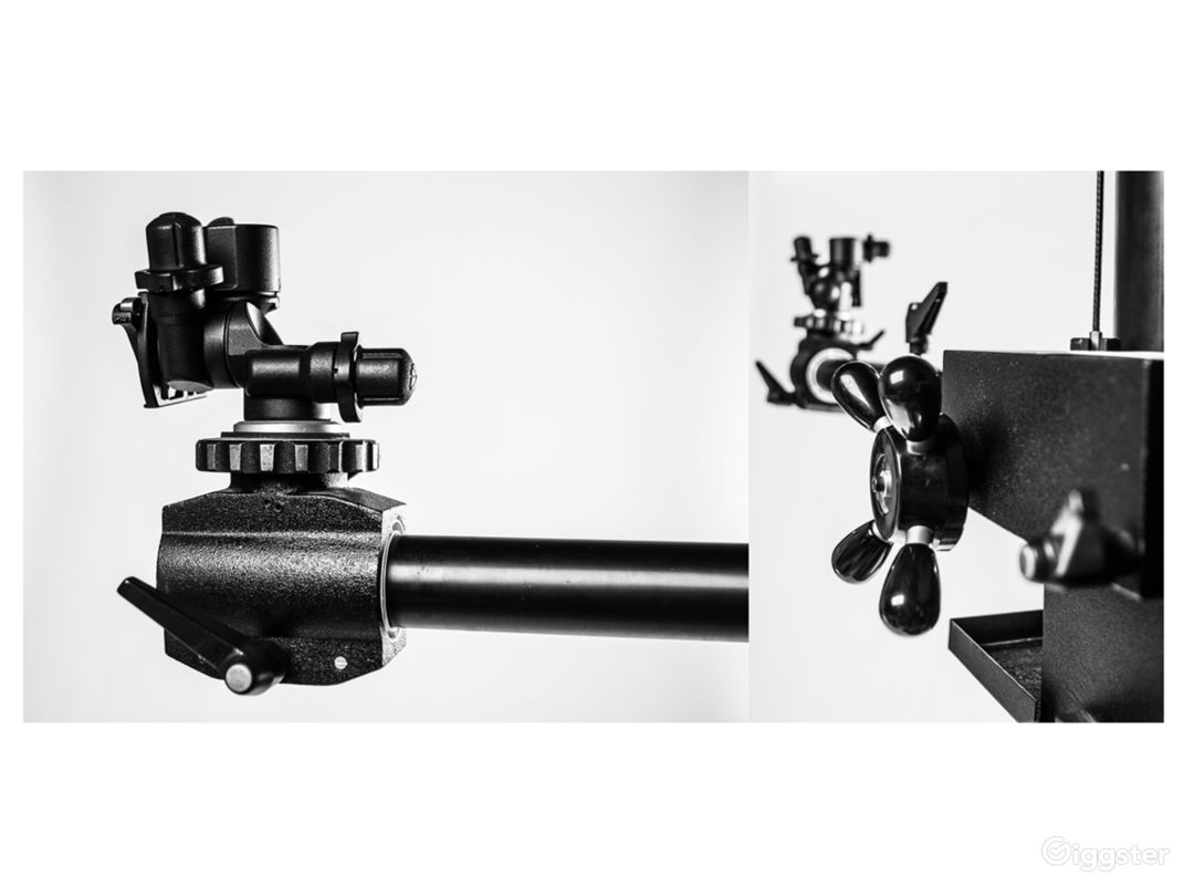 Camera Stand + Equipment Rentals available