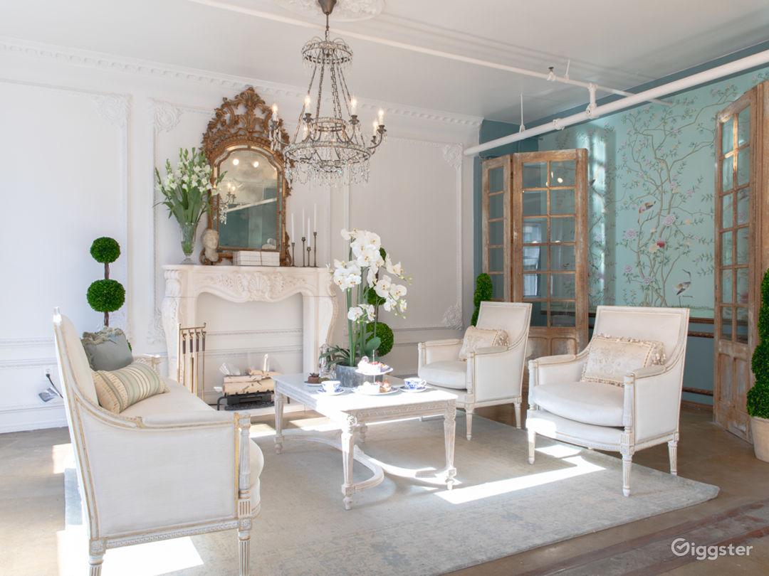 Downtown LA French Parisian Victorian Luxury Loft Photo 4