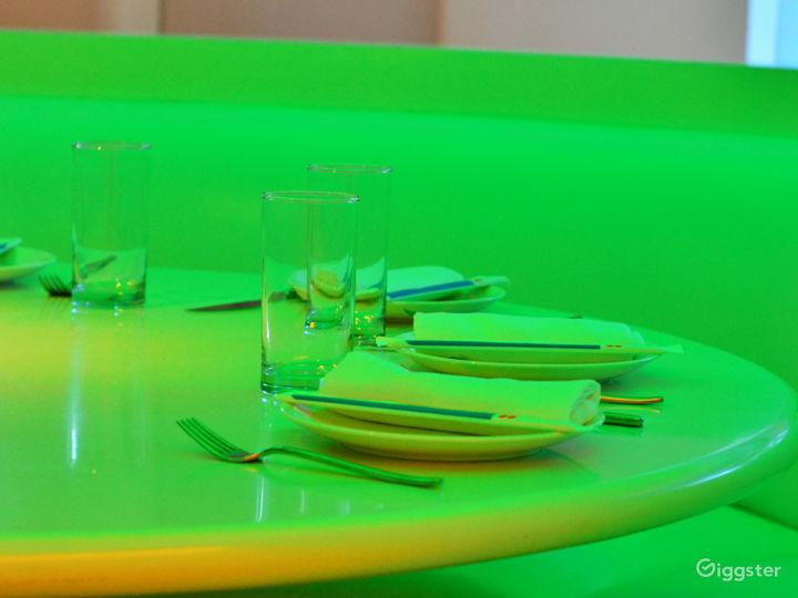 A Colorful, Futuristic Oasis Photo 5