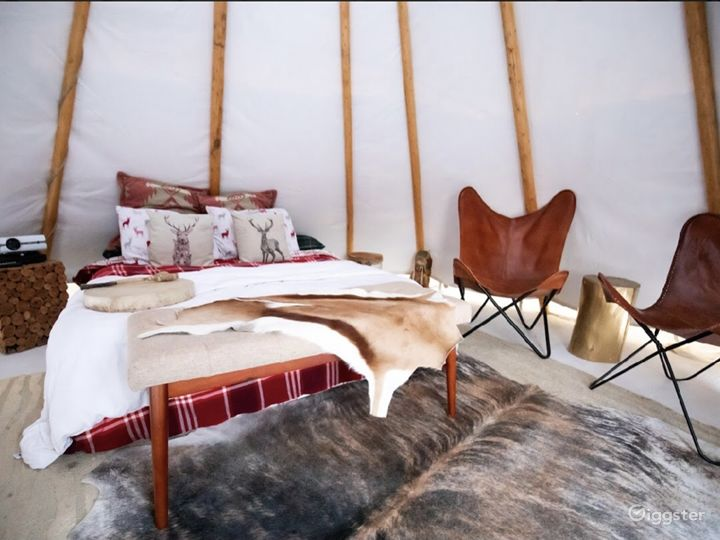 Ranch/ Farm with house and Tipis  Photo 3