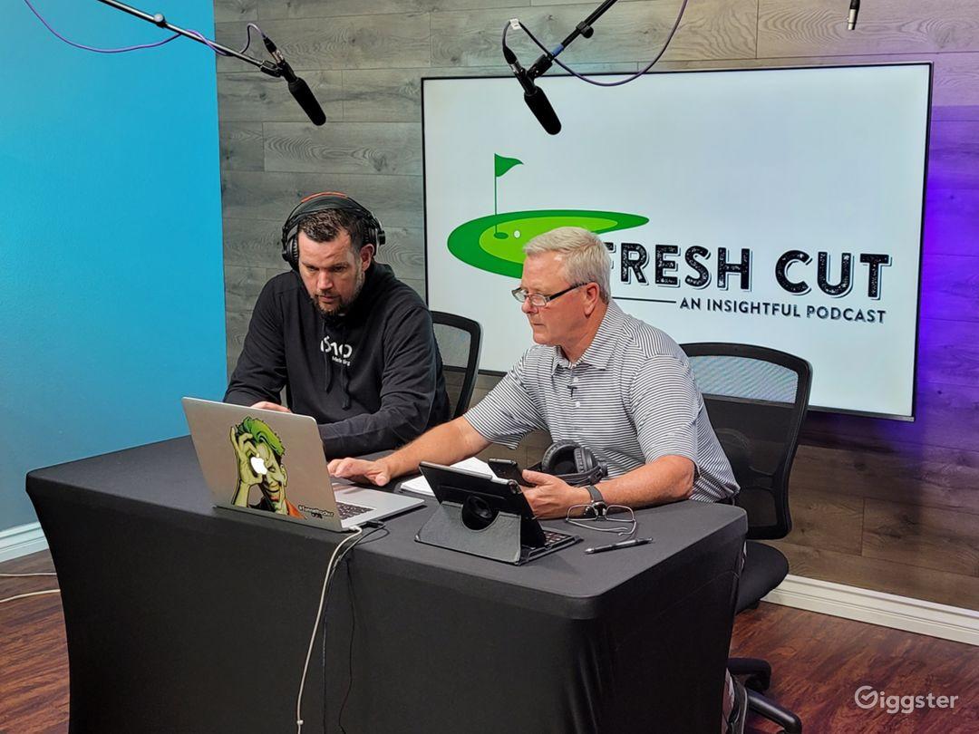 Advanced Podcast Studio Photo 1