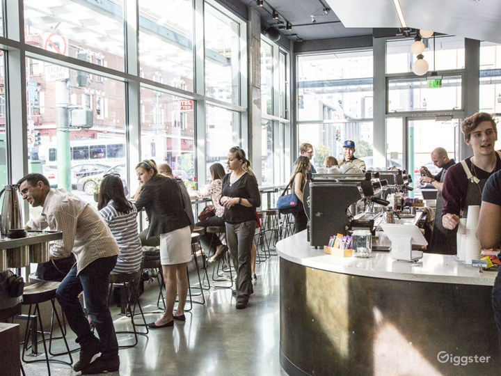 Beautifully designed Coffee Shop on corner in SOMA Photo 4