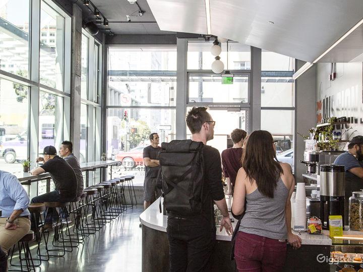 Beautifully designed Coffee Shop on corner in SOMA Photo 5