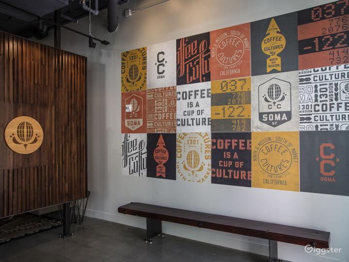 Beautifully designed Coffee Shop on corner in SOMA Photo 3