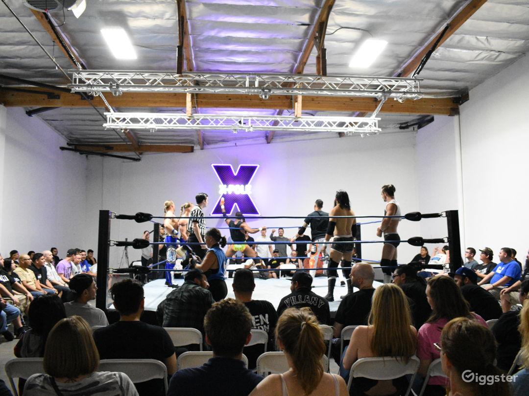 We've hosted wrestling events.
