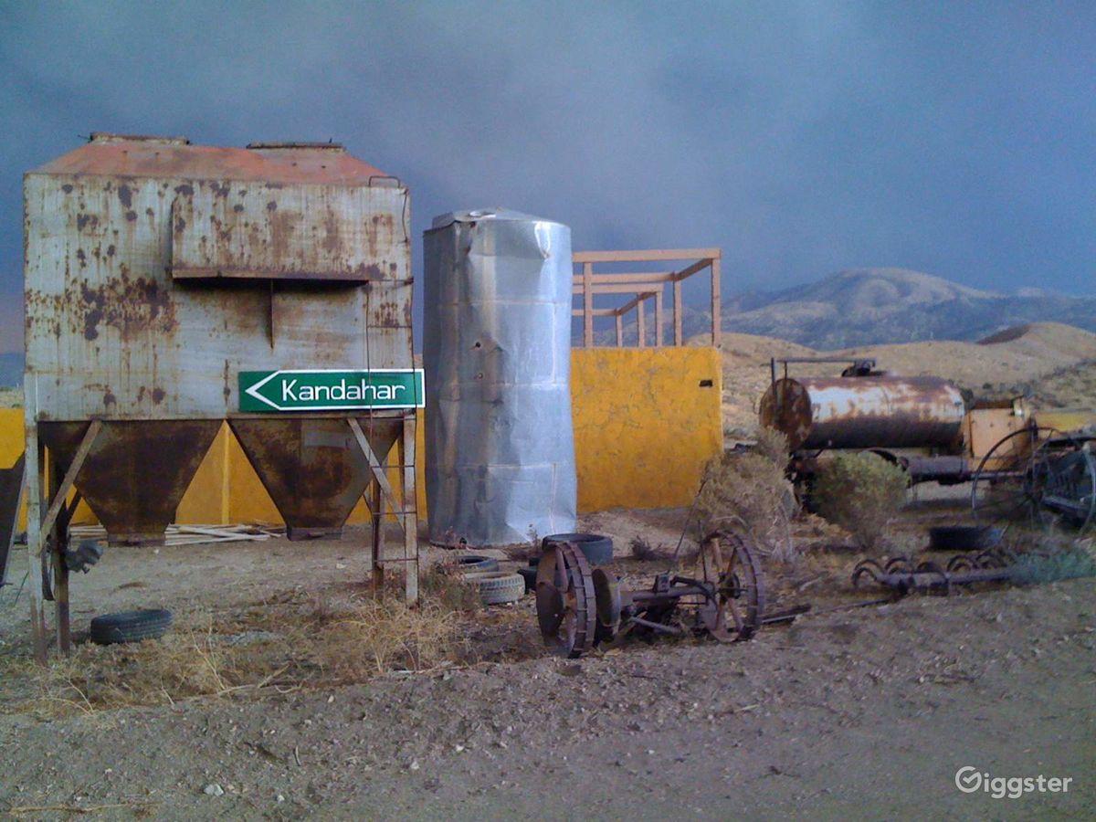 High Desert Filming Space Los Angeles Rental