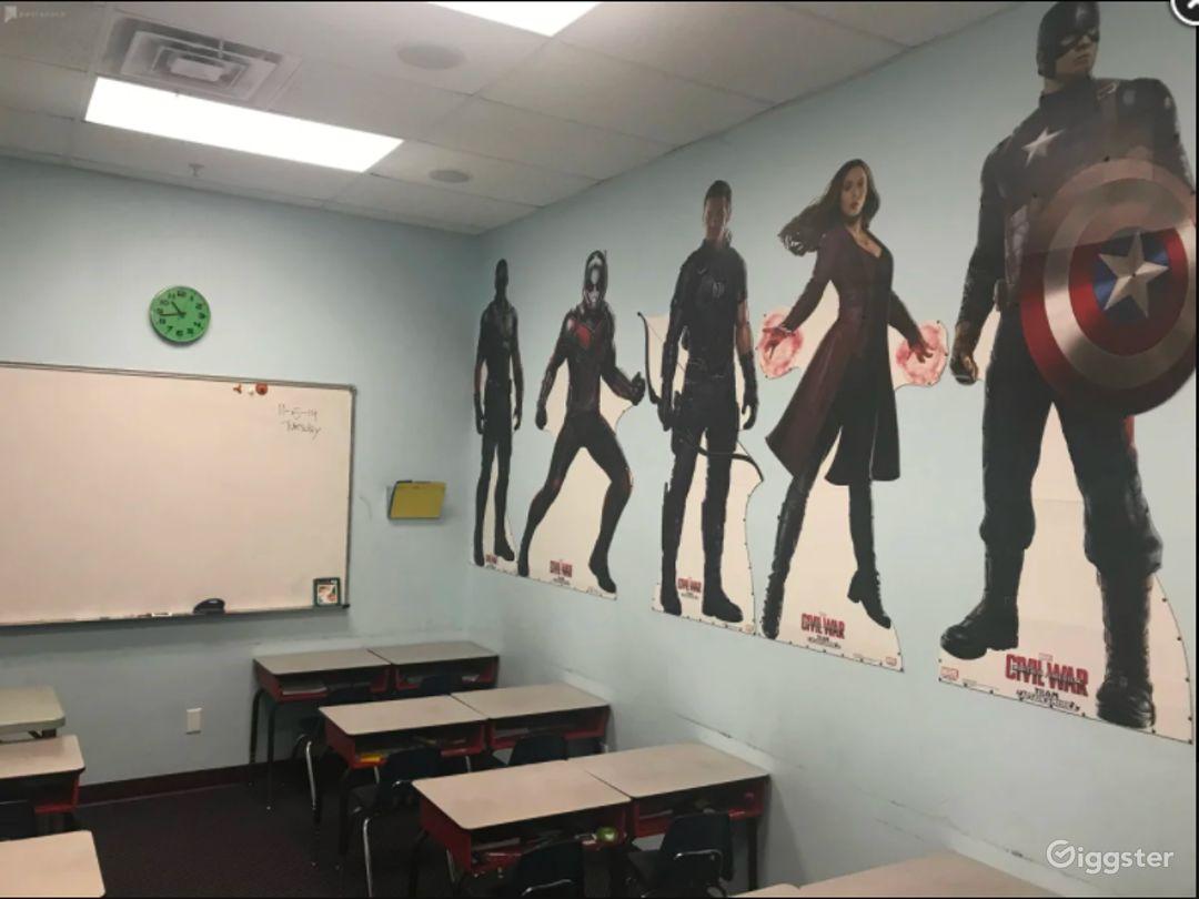Kids Friendly Avenger Theme Classroom Photo 1