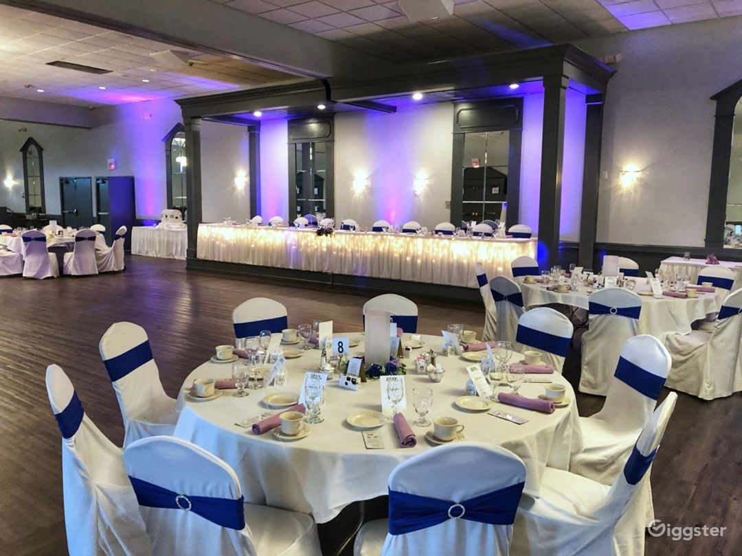 Main Facility Wedding Reception for 250 people