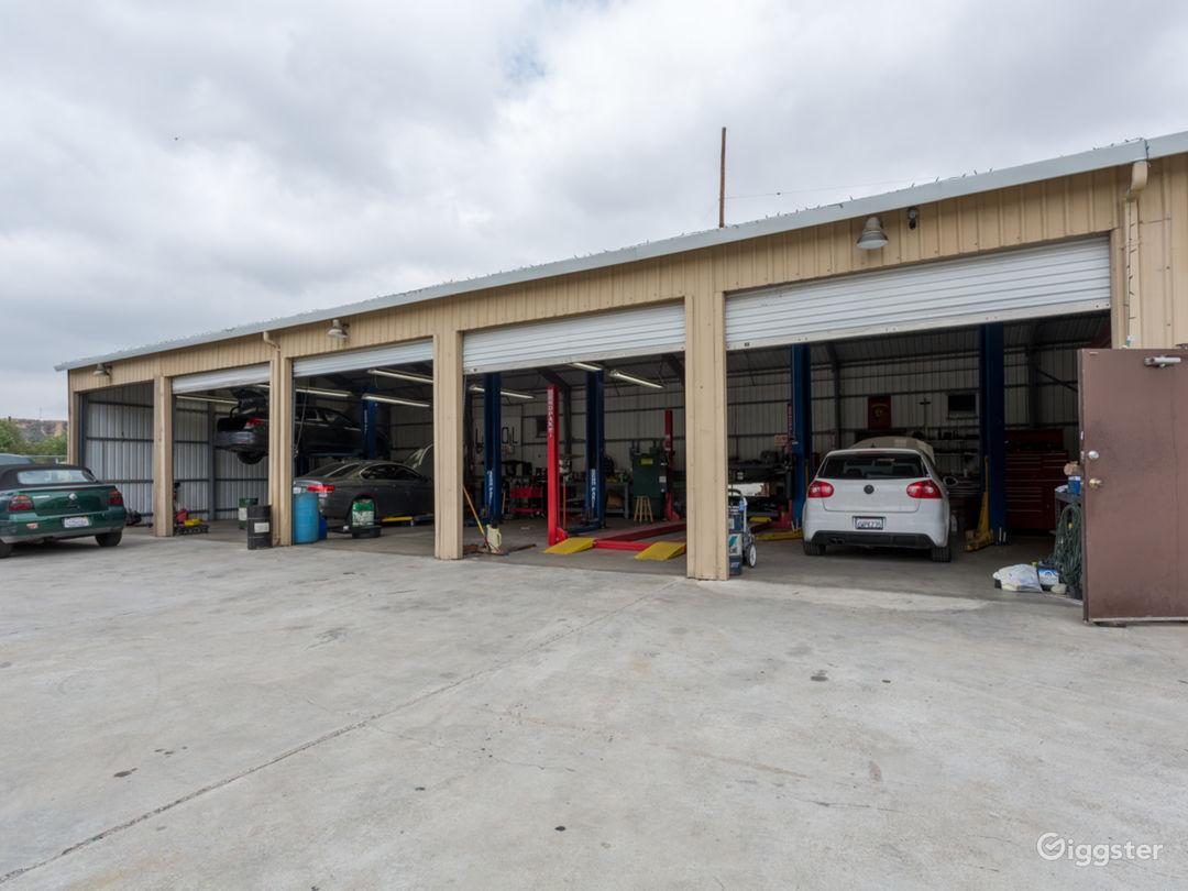Bright Red, clean, bright, Santa Clarita Auto Shop Photo 3