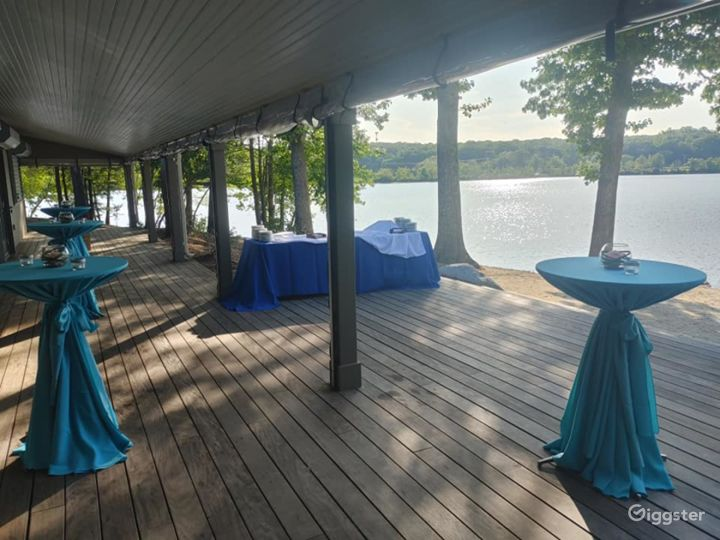Scenic Deck for Events in North Providence Photo 5