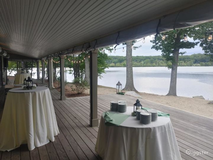 Scenic Deck for Events in North Providence Photo 4