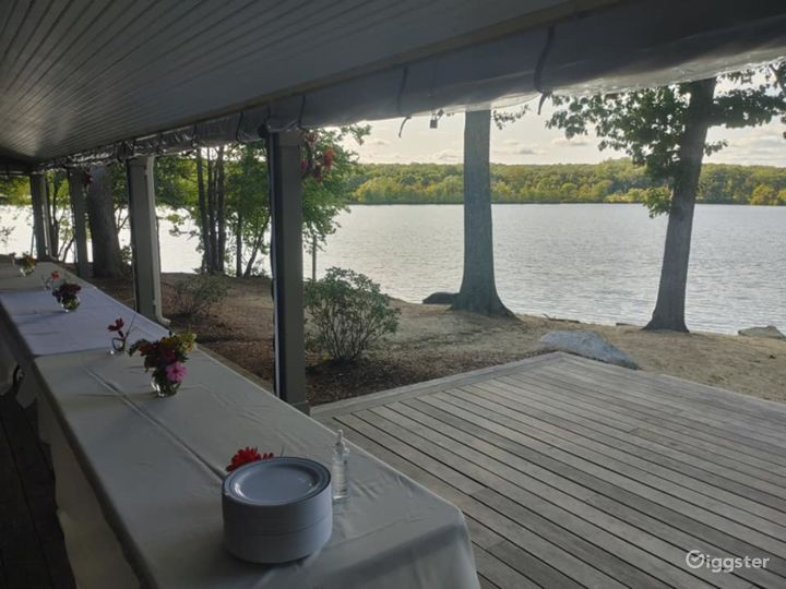 Scenic Deck for Events in North Providence Photo 3