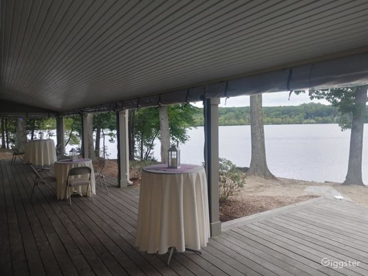Scenic Deck for Events in North Providence Photo 2