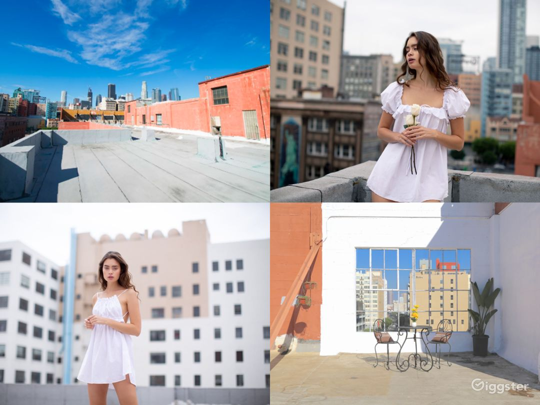 Rooftop with Famous Los Angeles Views -Photo/Video Photo 1