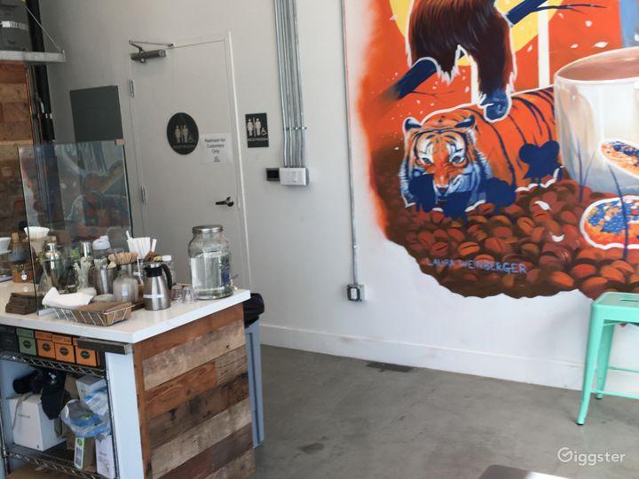 Cute cafe/coffee shop in Santa Monica