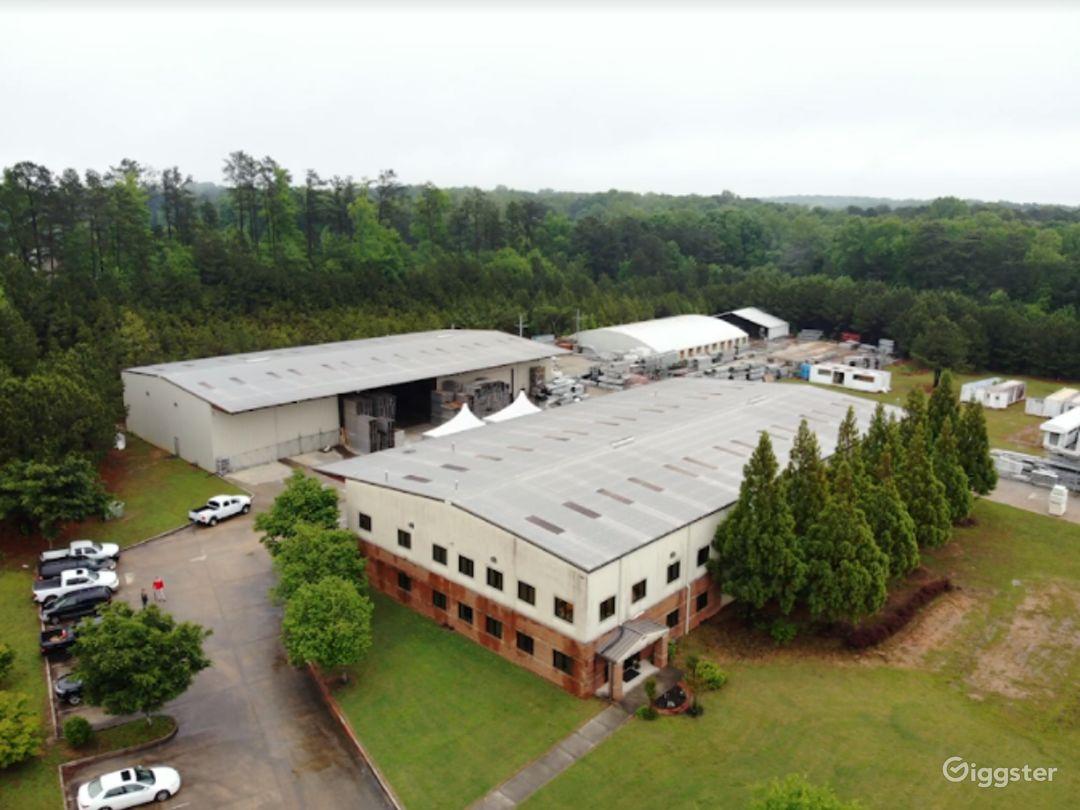 Warehouse and laydown Yard in Austell  Photo 1