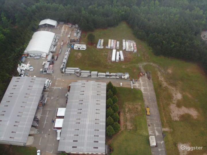 Warehouse and laydown Yard in Austell  Photo 5