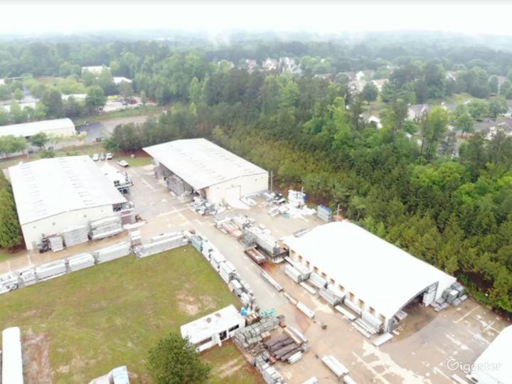 Warehouse and laydown Yard in Austell  Photo 2