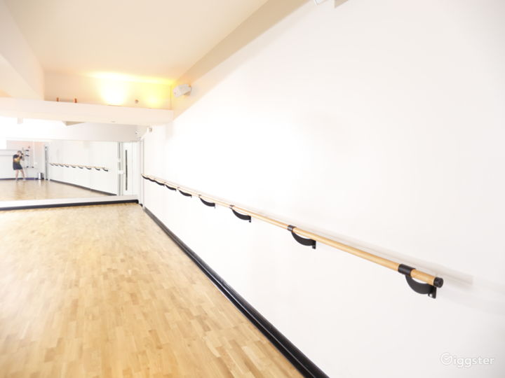 Ballet Room w/ Mirrored Walls in Financial District Photo 4