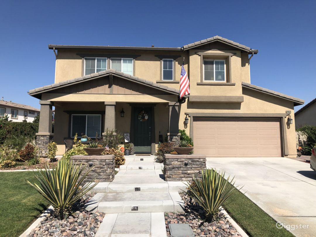 Beautiful 2 story craftsman style home conveniently located on the west end of Eastvale, California on a large lot. (Approximately 1/4 acre backyard)