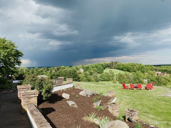 Beautiful 270 degree panoramic views off the back patios.