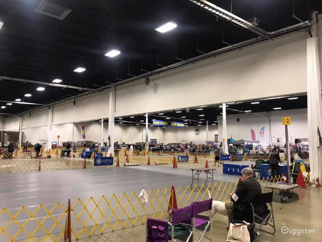 Incredible and Large Exhibition Hall A & B Photo 1