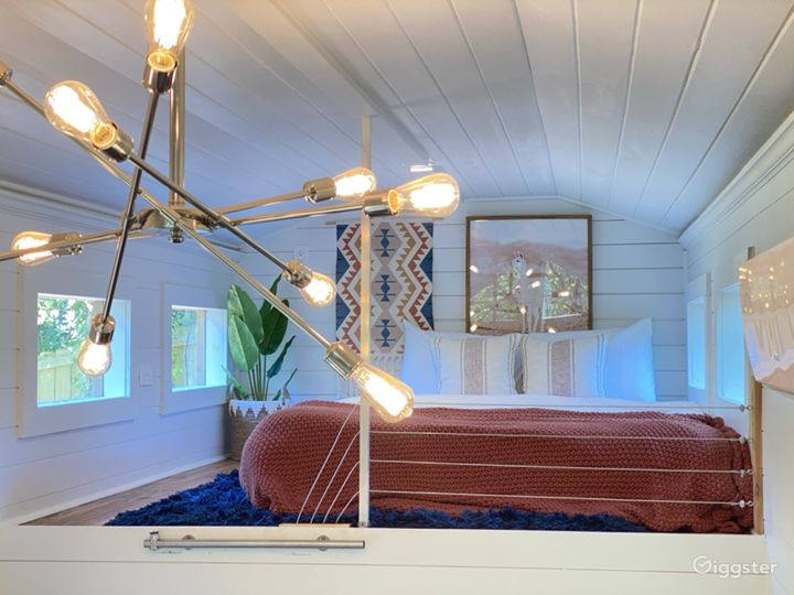 Luxe Tiny House with Outdoor Movie Theater  Photo 4