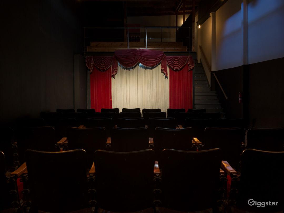 Historic and Evocative Black Box Theater Photo 1